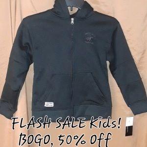 ** Beverly Hills Polo club Hoodie Jacket w Pockets